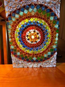 Mandala Fensterbild